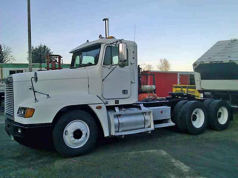 Freightliner Tractor Weight : Freightliner dual drive tractor