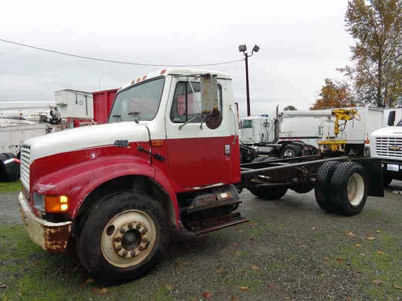 Single Axle Tractor Trucks : International single axle truck tractor