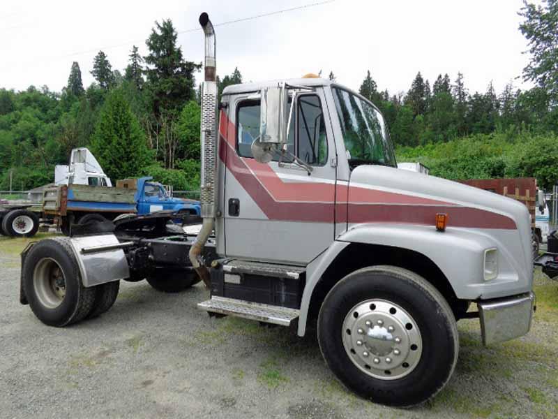 Single Axle Semi Tractors : Freightliner single axle truck tractor